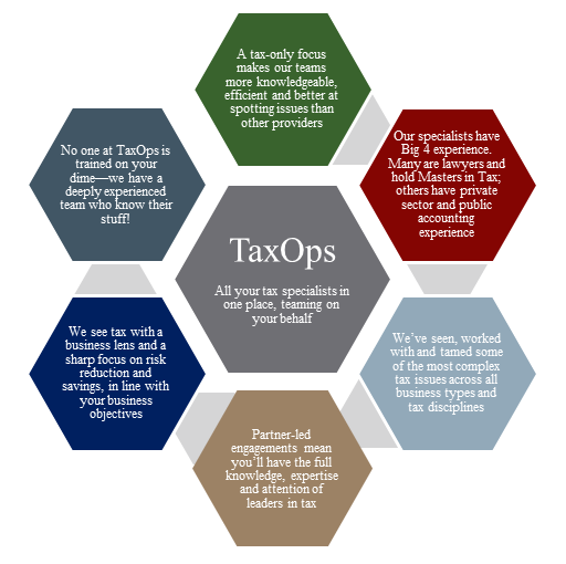 TaxOps model website
