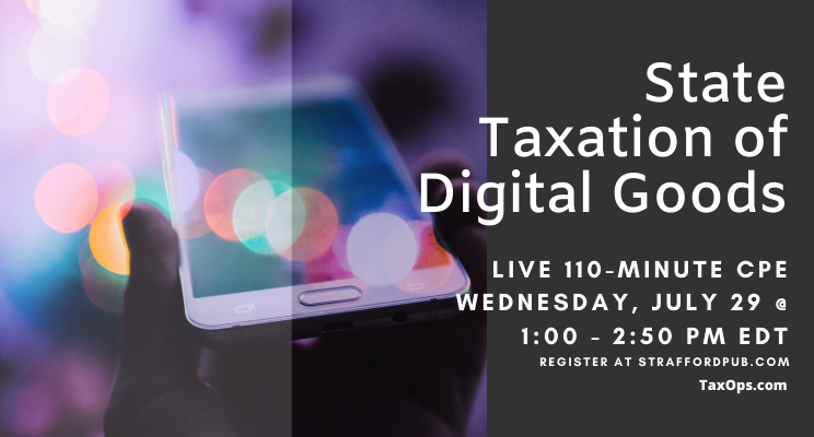 State Taxation of Digital Goods